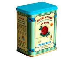 Tin of 70 grams of paprika from La Vera